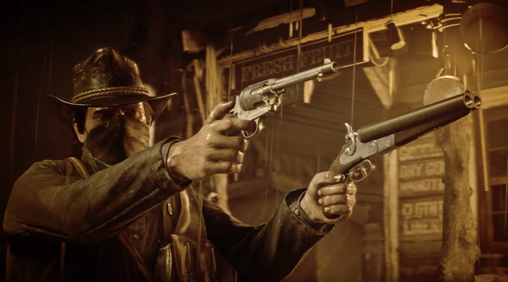 Arthur Morgan in 'Red Dead Redemption 2' from Rockstar Games