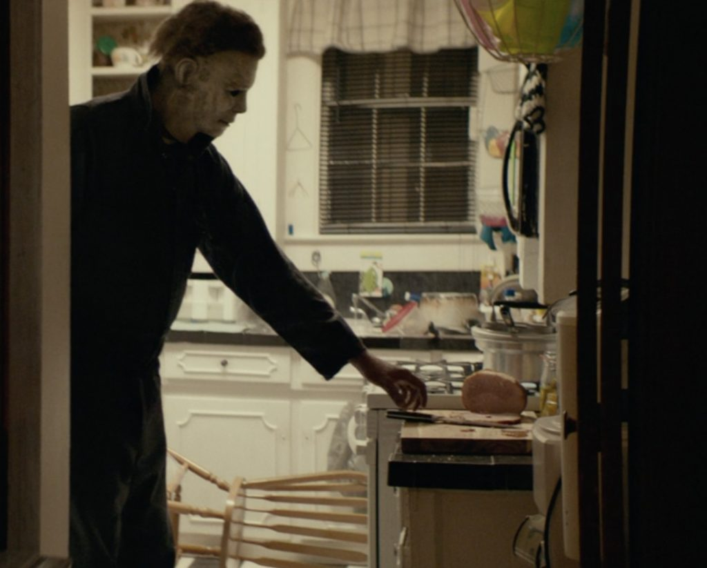 Michael Myers in David Gordon Green's 'Halloween.' Courtesy Universal Pictures