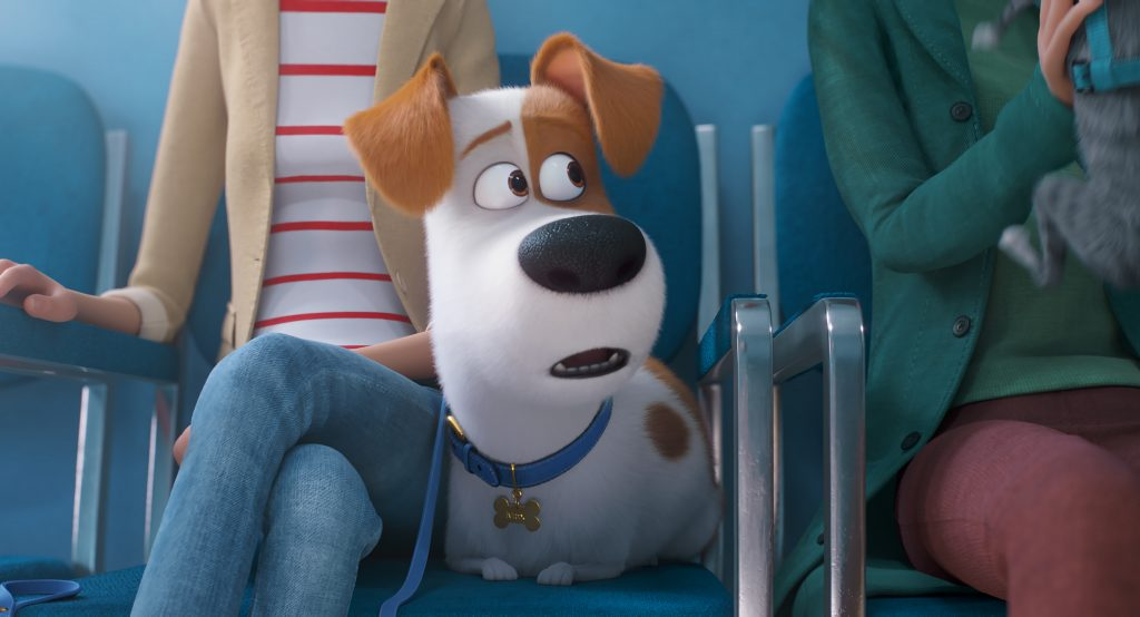 Max the dog in 'The Secret Life of Pets 2' from Universal Pictures.