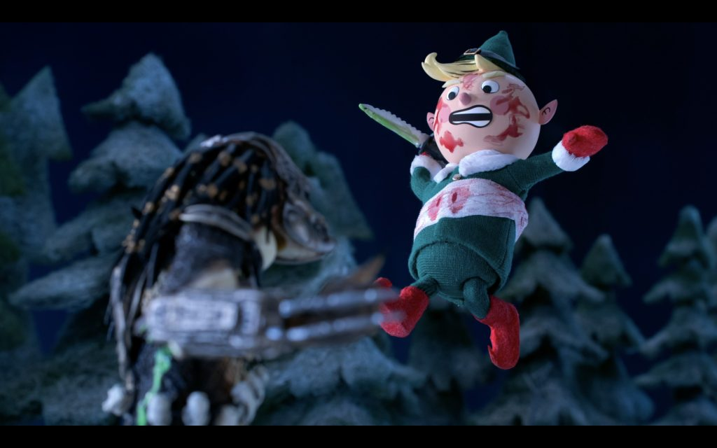 Watch the Entire (Kinda Shameless) 'Predator' Stop-Motion Holiday Special