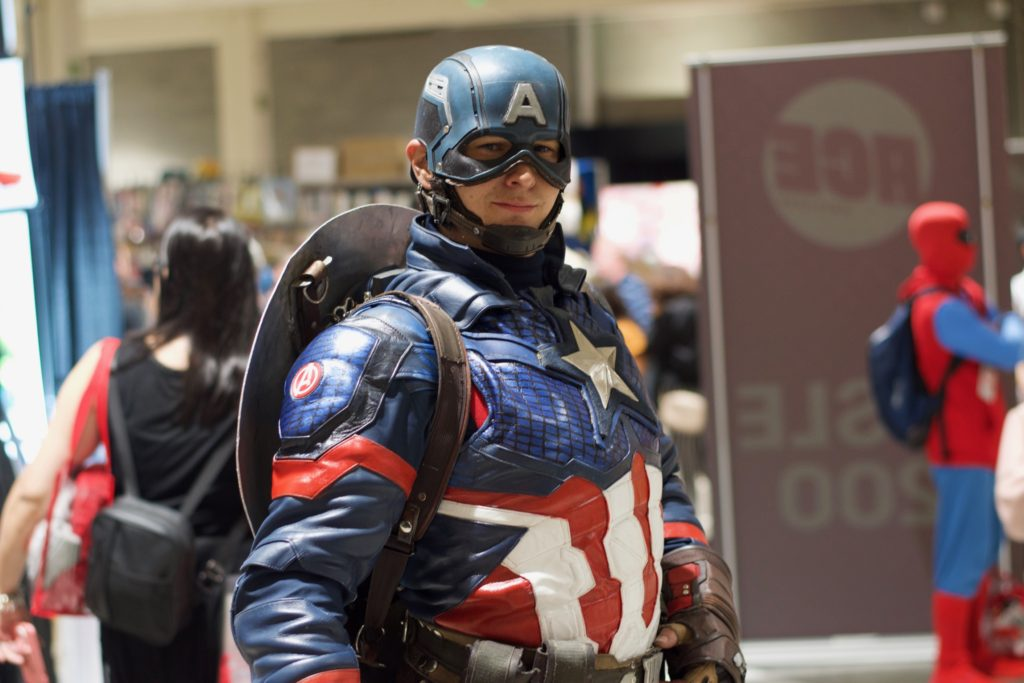 Colorado Captain Brings MCU Icon to Life to Benefit Pediatric Cancer Research