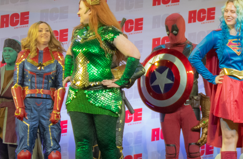 Heroes Assembled at ACE Comic Con Cosplay Contest