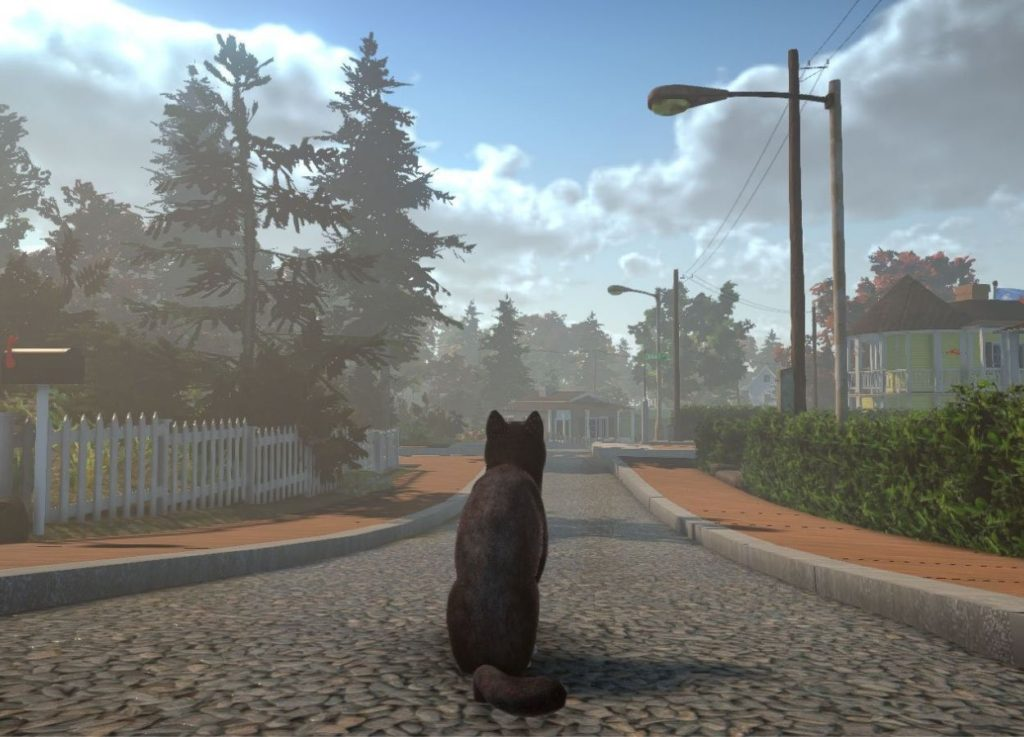 Eric Blumrich's Peace Island Is an Open-World Video Game Starring Cats